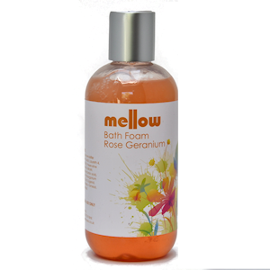 Mellow Skincare Rose Geranium Bath Foam