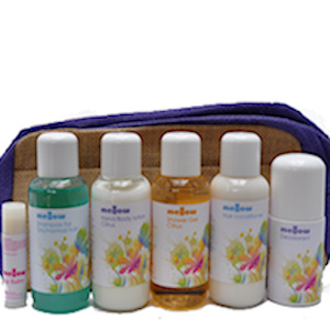 Mellow Skincare Chichester Travel Size Toiletries and Bag