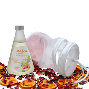 Mellow Skincare Luxury Bath Oil Gift Set