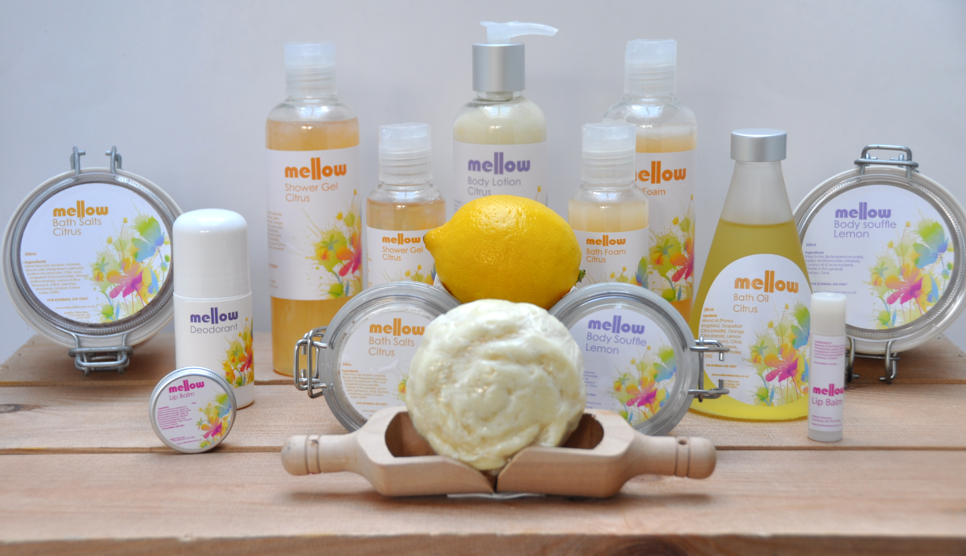 The power of Citrus fruits on our senses and our skin