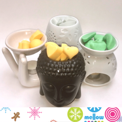 soy-wax-melts-ceramic-burners-gift-ideas-mellow-skincare