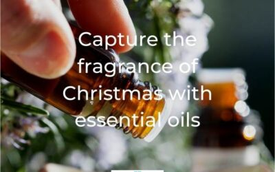 Capture the fragrance of Christmas with essential oils